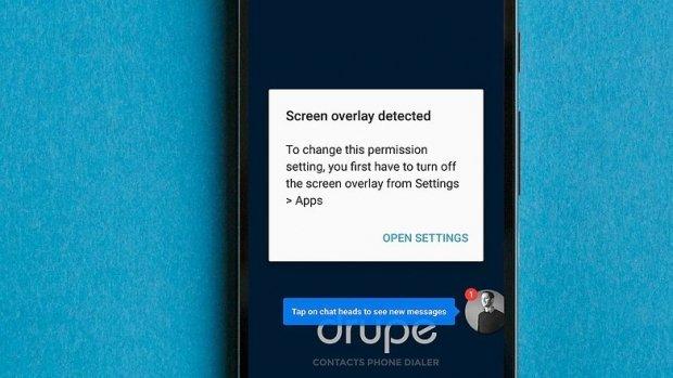 "حل مشكله ""Screen Overlay Detected"" فى الاندرويد"