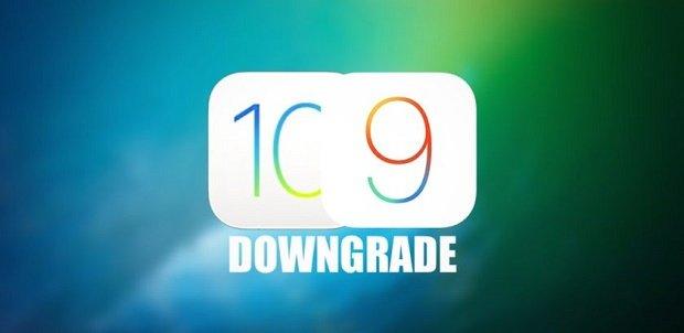 كيفية عمل Downgrade للايفون من iOS 10 الى iOS 9 1