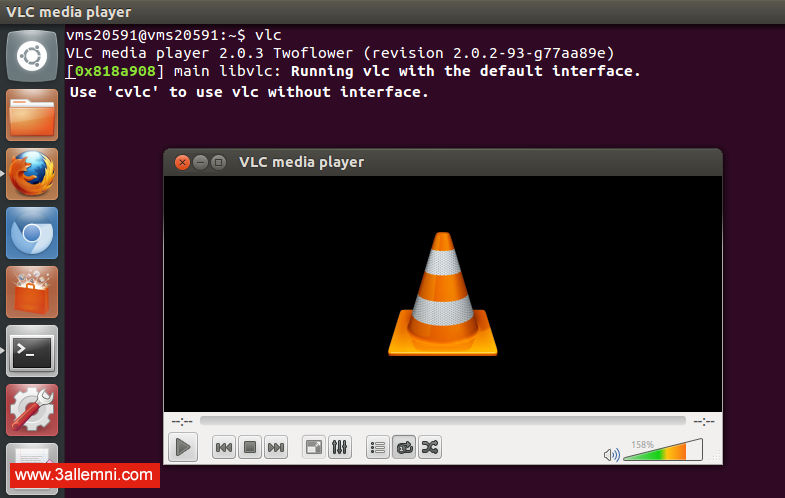 vlc-media-player-opened-in-linux-ubuntuvlc-media-player-opened-in-linux-ubuntu