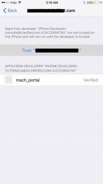 كيفية عمل جيلبريك iOS 10.1.1 13