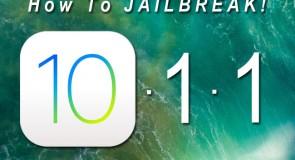 كيفية عمل جيلبريك iOS 10.1.1