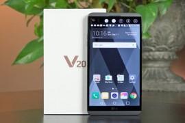 مراجعه هاتف LG V20