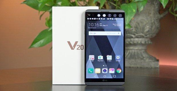مراجعه هاتف LG V20 1