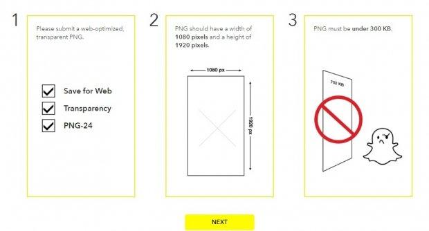 كيف اضافه فلاتر الى السناب شات SnapChat Geofilter 2