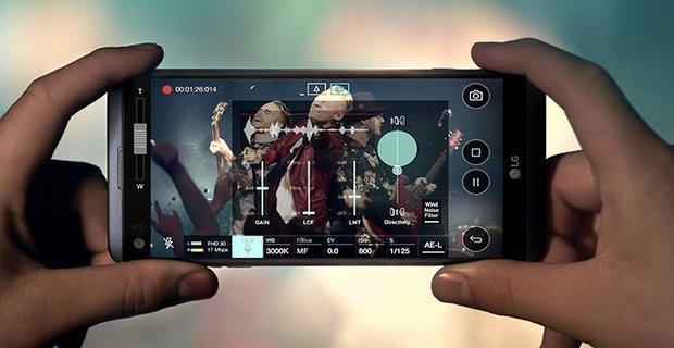 مراجعه هاتف LG V20 3