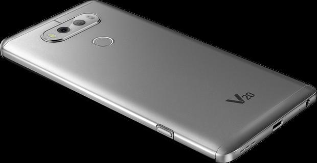 مراجعه هاتف LG V20 2