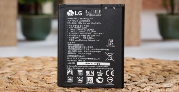مراجعه هاتف LG V20 5