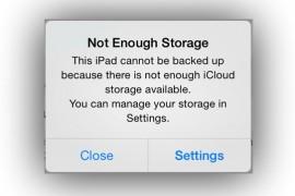 """حل مشكله التخزين """"not enough storage"""" فى الايفون"""