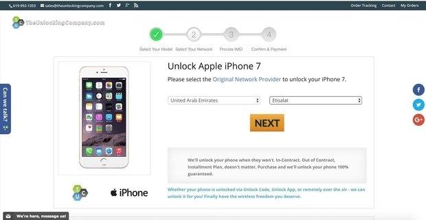 طريقة الغاء قفل هاتف IPhone مقفول على اي شبكة في العالم 4