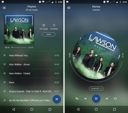 """أفضل 5 مُشغلات موسيقى على """"Android"""" أندرويد 2"""