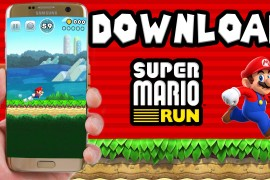 تحميل لعبة Super Mario Run apk للاندرويد