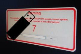 طريقة قفل شاشة الكمبيوتر بالفلاشة USB