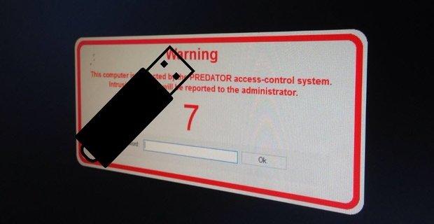 طريقة قفل شاشة الكمبيوتر بالفلاشة USB 2