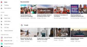 كيفيه تفعيل الشكل الجديد لليوتيوب Material design