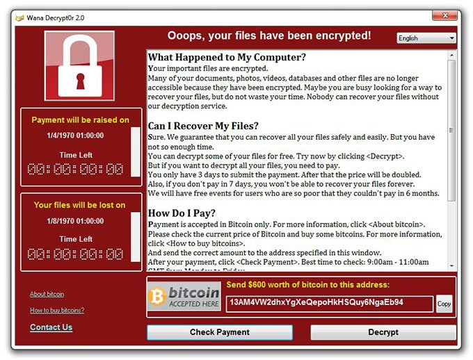 حذف Virus WannaCry ومنعه 1