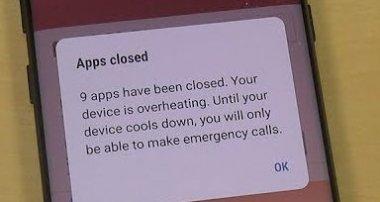 كيف تقوم بحل مشكلة أرتفاع الحرارة في هاتف سامسونج S8