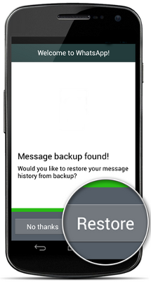 Photo of كيف تقوم بأستعادة رسائل WhatsApp علي الأندرويد و iOS