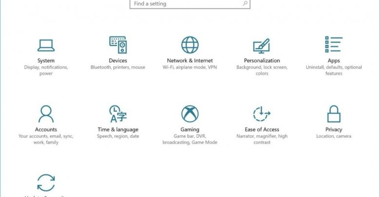 كيفيه الحصول علي تحديث Windows 10 Fall Creators Update 1