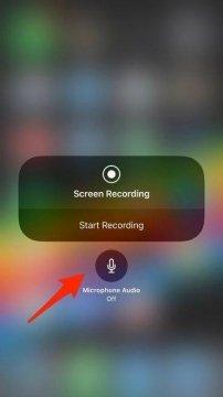 كيفيه تسجيل الشاشه للايفون و الايباد فى iOS 11 بدون تطبيقات 2