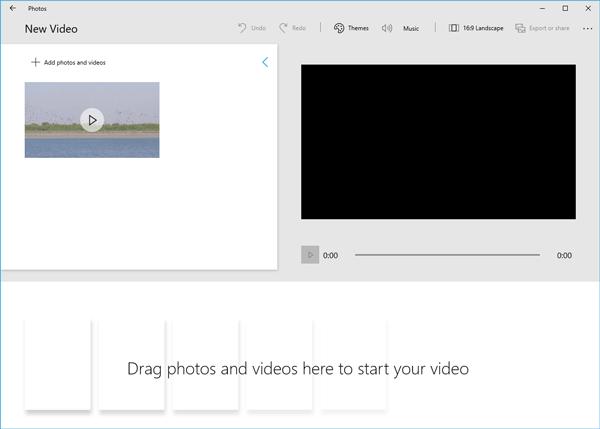 كيفية تحرير فيديو في Windows 10 1