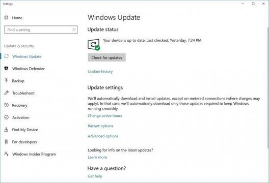 كيفيه الحصول علي تحديث Windows 10 Fall Creators Update 2