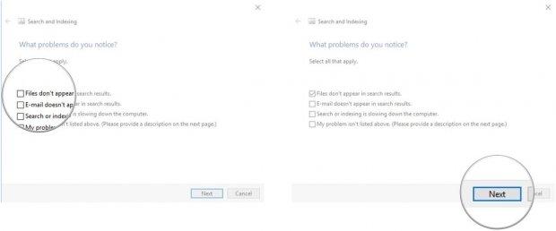 """حل مشكلة توقف شريط البحث """"Windows Search"""" في ويندوز 10 7"""