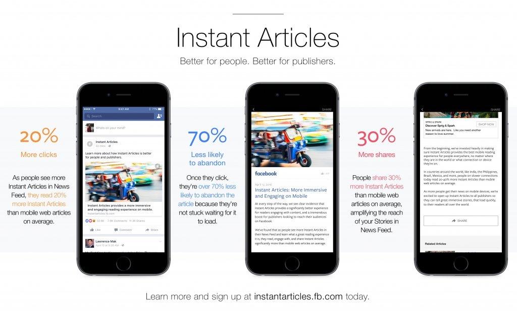 """كيفية تفعيل المقالات الفورية """"Instant Articles"""" علي فيسبوك 1"""
