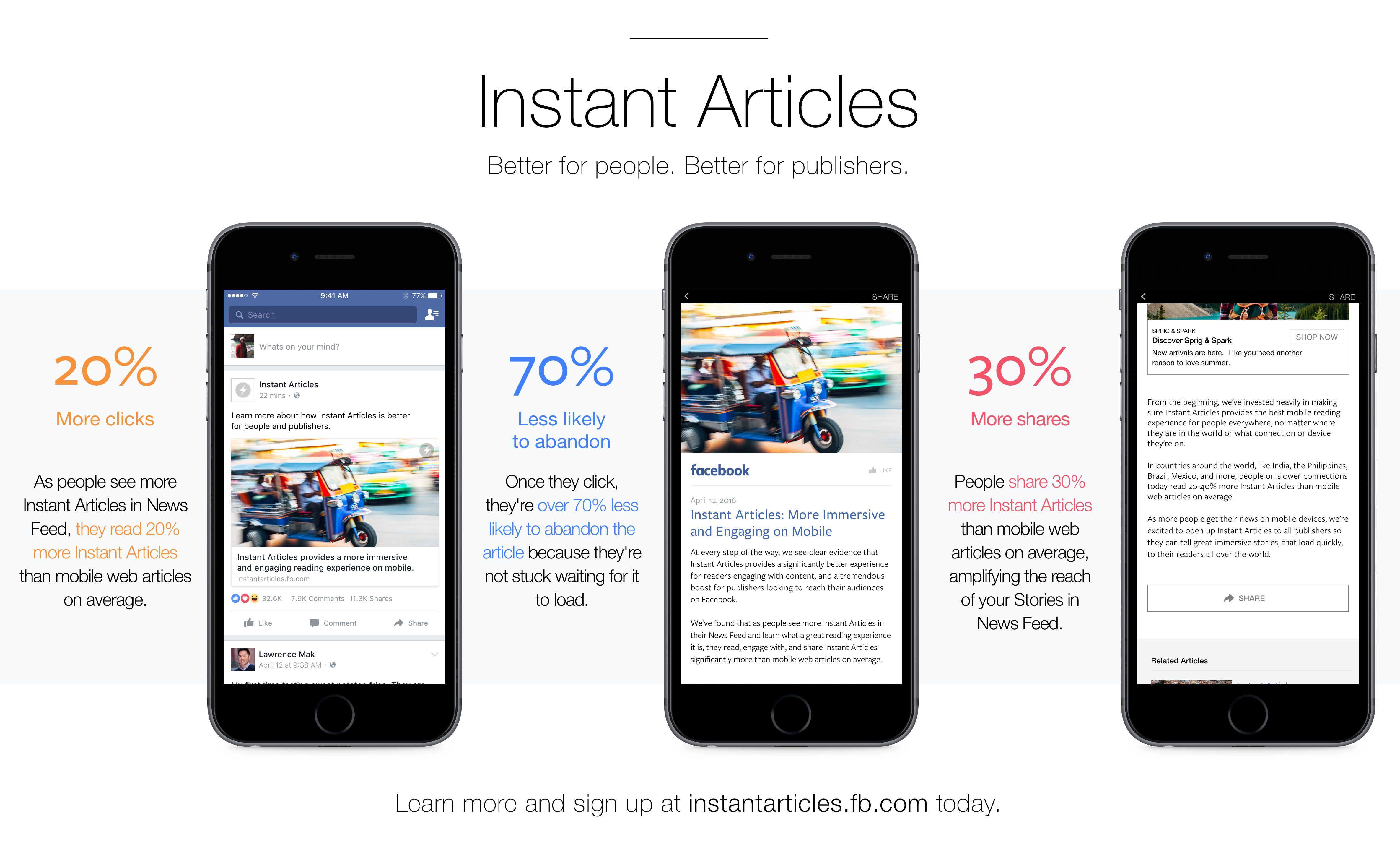 "Photo of كيفية تفعيل المقالات الفورية ""Instant Articles"" علي فيسبوك"