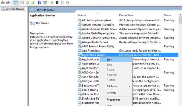 كيف حل مشكلة توقف قائمة البدء Start Menu عن العمل في ويندوز 10 4