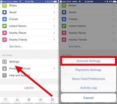 كيف تأمين حساب الفيس بوك من الاختراق 3