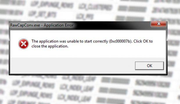 حل  مشكلة ظهور رسالة Error 0xc000007b في ويندوز 7 و8 و10 8