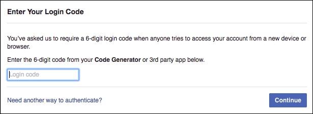 كيف تأمين حساب الفيس بوك من الاختراق 6