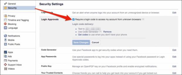 كيف تأمين حساب الفيس بوك من الاختراق 5