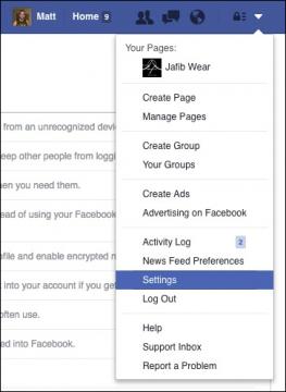كيف تأمين حساب الفيس بوك من الاختراق 2