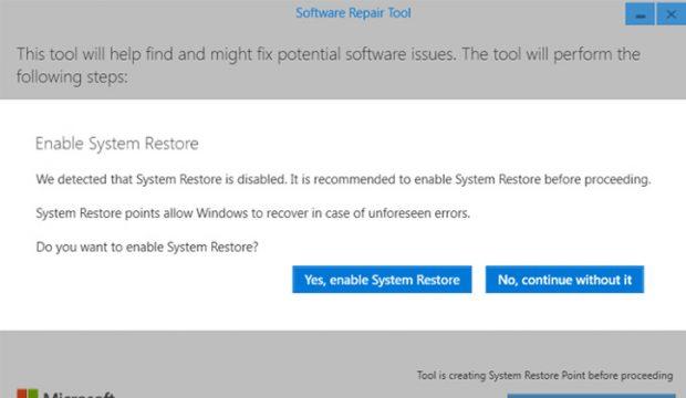 تحميل اداة Software Repair Tool لحل مشاكل ويندوز 10 3