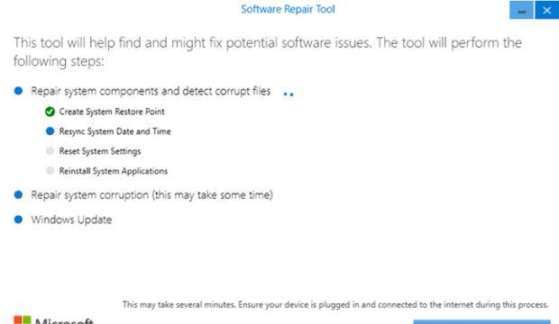 تحميل اداة Software Repair Tool لحل مشاكل ويندوز 10 4