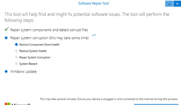 تحميل اداة Software Repair Tool لحل مشاكل ويندوز 10 5