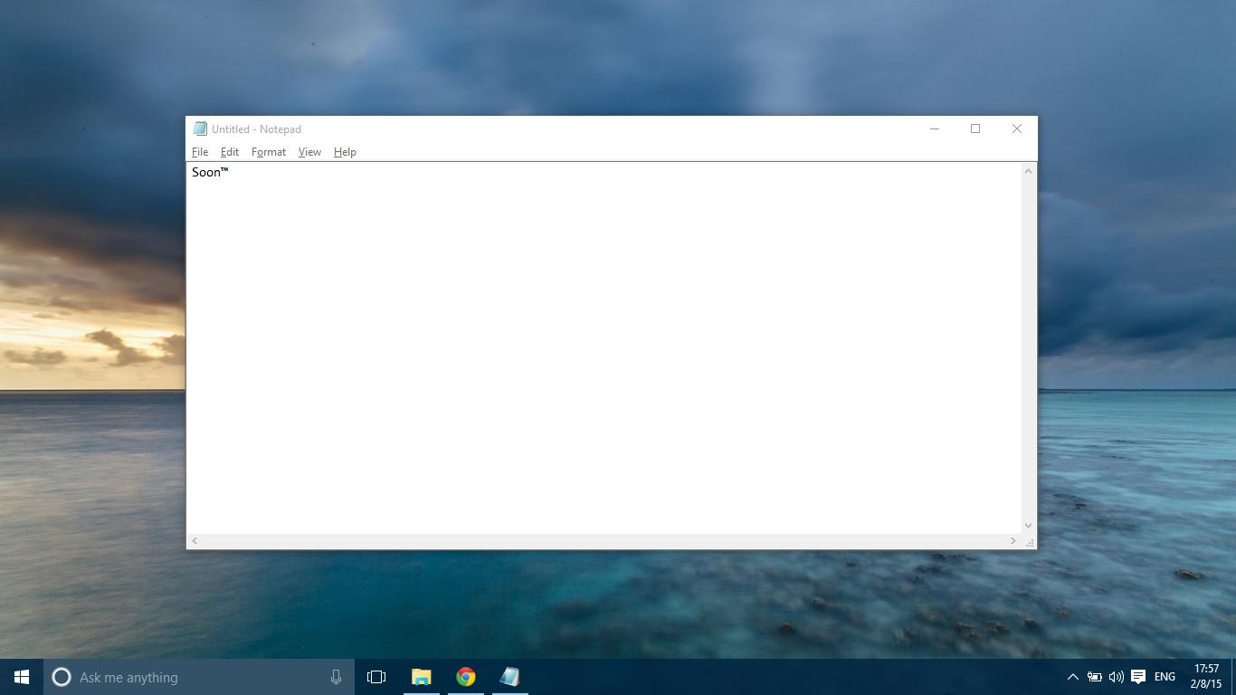 كيفية حل مشكلة اللغة العربية في Notepad 1