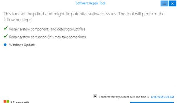 تحميل اداة Software Repair Tool لحل مشاكل ويندوز 10 6