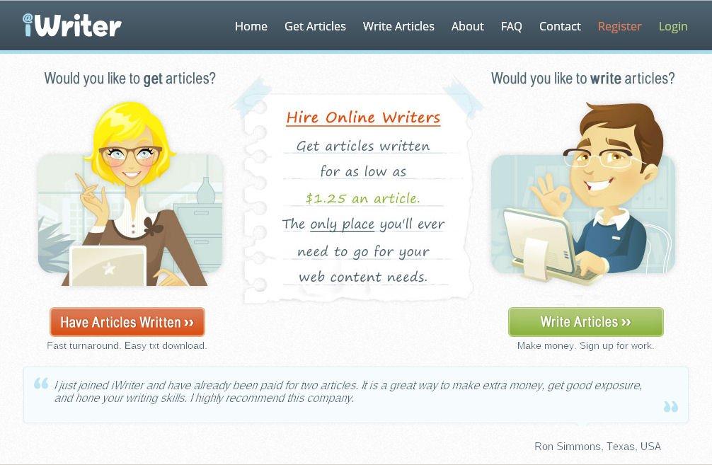 شرح موقع iWriter وكيفيه الربح منه 1