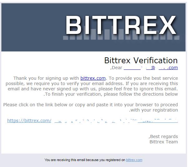 طريقة تفعيل منصة Bittrex بالتفصيل 1