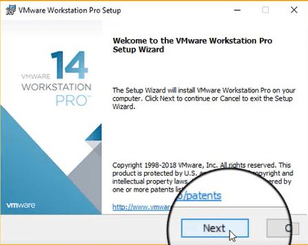 تنزيل وتفعيل VMware Workstation Pro 14 إصدار 2018 2