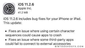 تحميل تحديث iOS 11.2.6 لهاتف الآيفون والآيباد 2