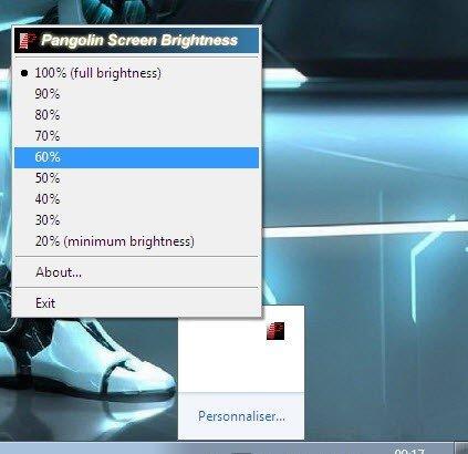 كيفية خفض سطوع شاشة الكمبيوتر 2