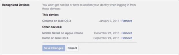 كيف تأمين حساب الفيس بوك من الاختراق 11