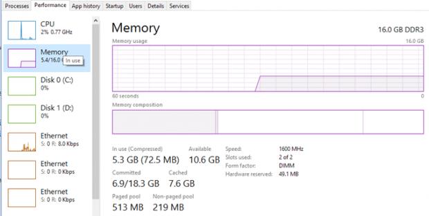 حل مشكلة استهلاك 100% Disk Usage ويندوز 10 9