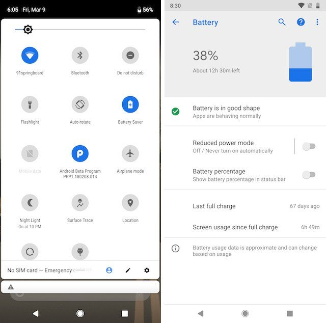 تعرف على أبرز 10 تغييرات ومميزات جديدة في أندرويد بي Android P 10
