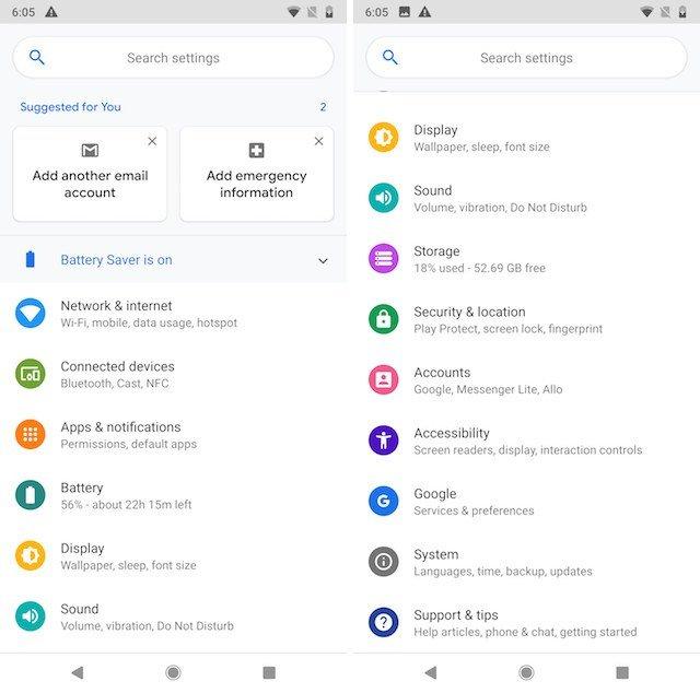 تعرف على أبرز 10 تغييرات ومميزات جديدة في أندرويد بي Android P 4