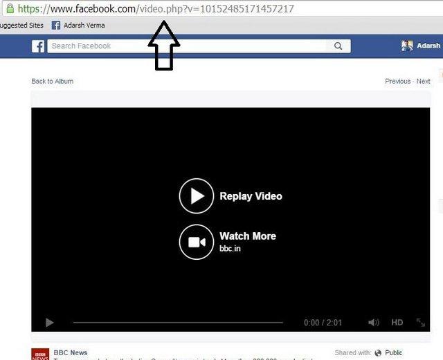 طريقة تحميل فيديوهات فيسبوك 2