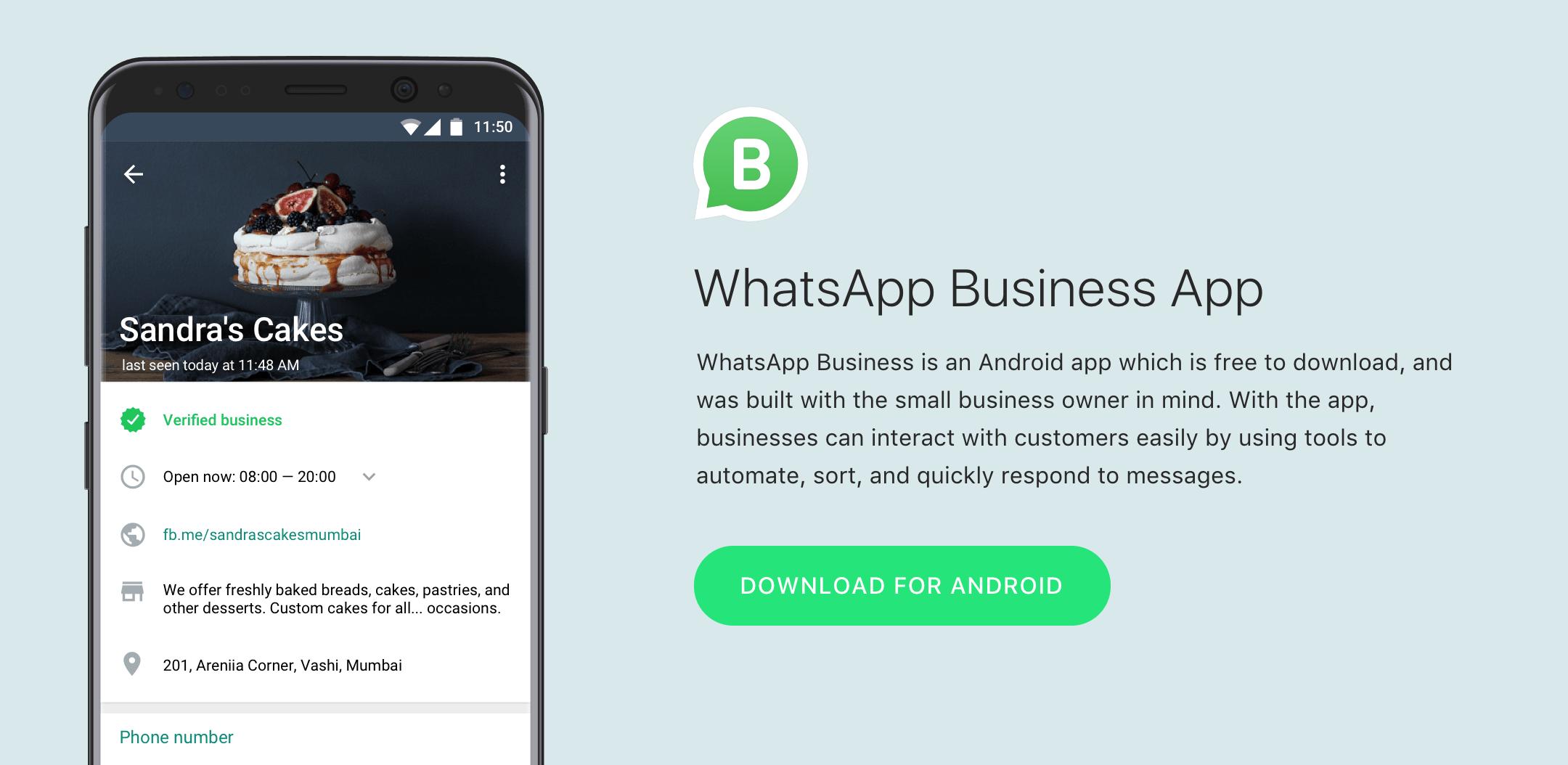 تحميل تطبيق واتساب نسخة الأعمال Whatsapp Business 2